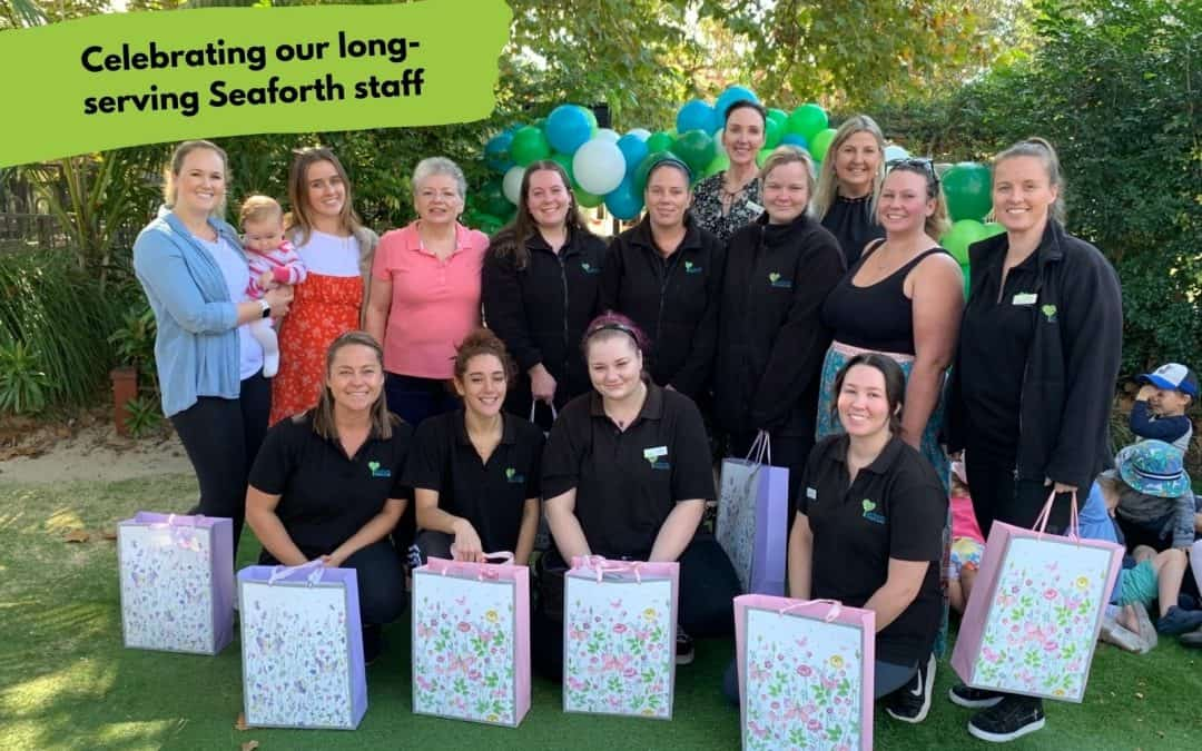 High turnover? Not at Seaforth! We celebrate our long-serving staff members