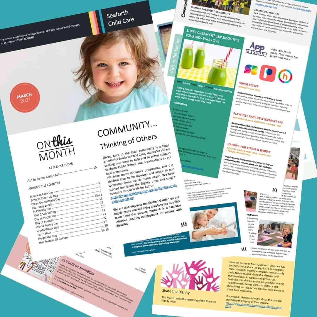 Seaforth Childcare Newsletter March 2021